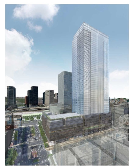 Tokyo Tatemono's moves ahead with 50 story complex near