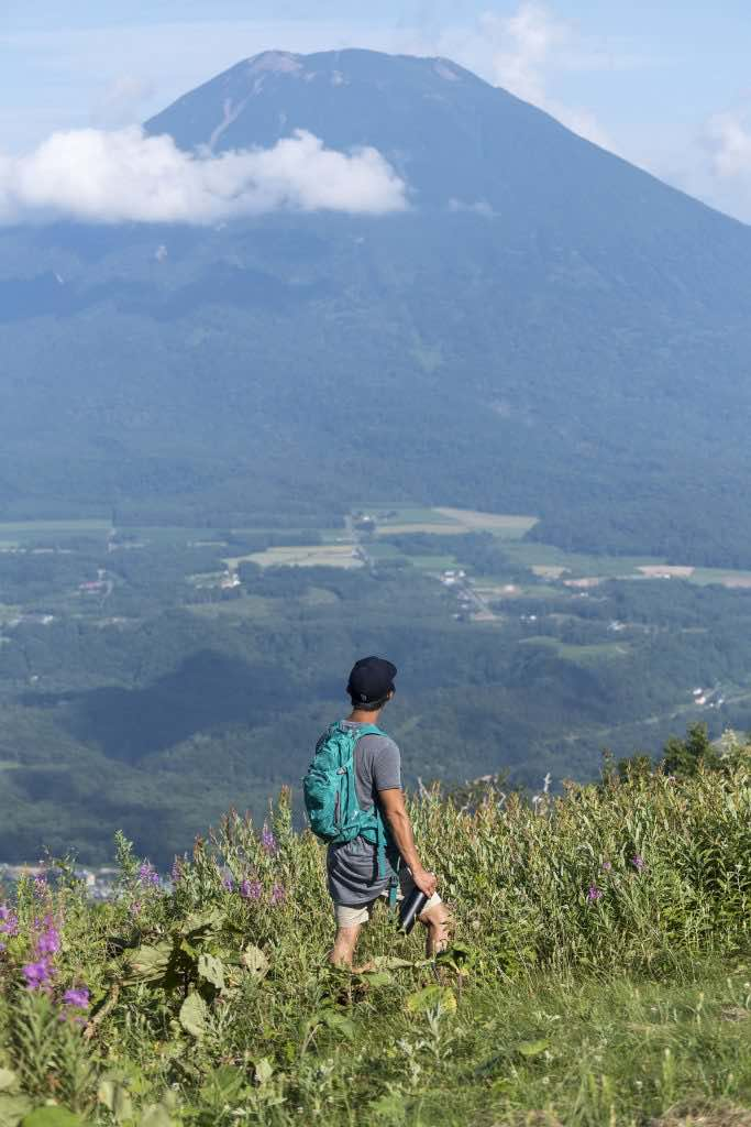 Niseko hiking