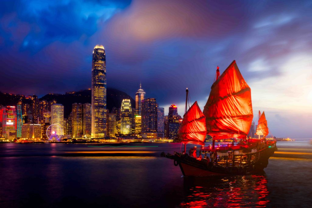 Hong Kong skyline view for real estate investing in Japan comparison